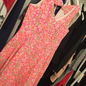 Lilly Pulitzer Freja dress NWT size 10 fiesta pink